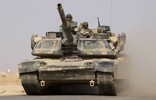 Char d'assaut américain (Source - Domaine public)