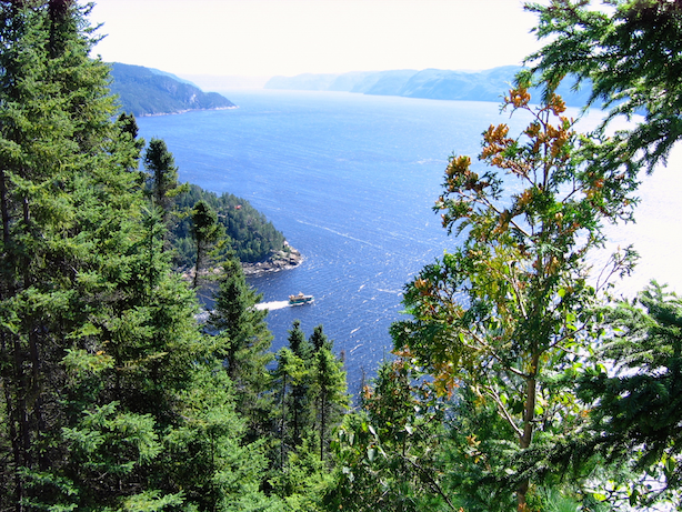 Fjord du Saguenay (Photo: J. Riopel)