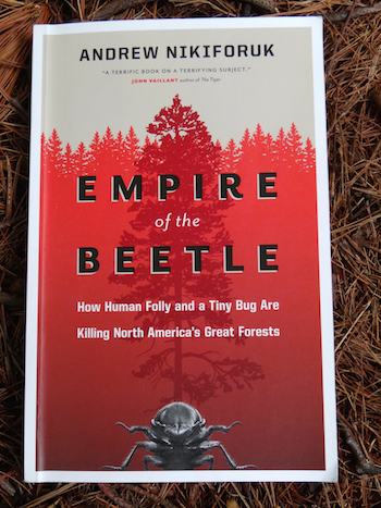 Page titre du livre: Empire of Beetle