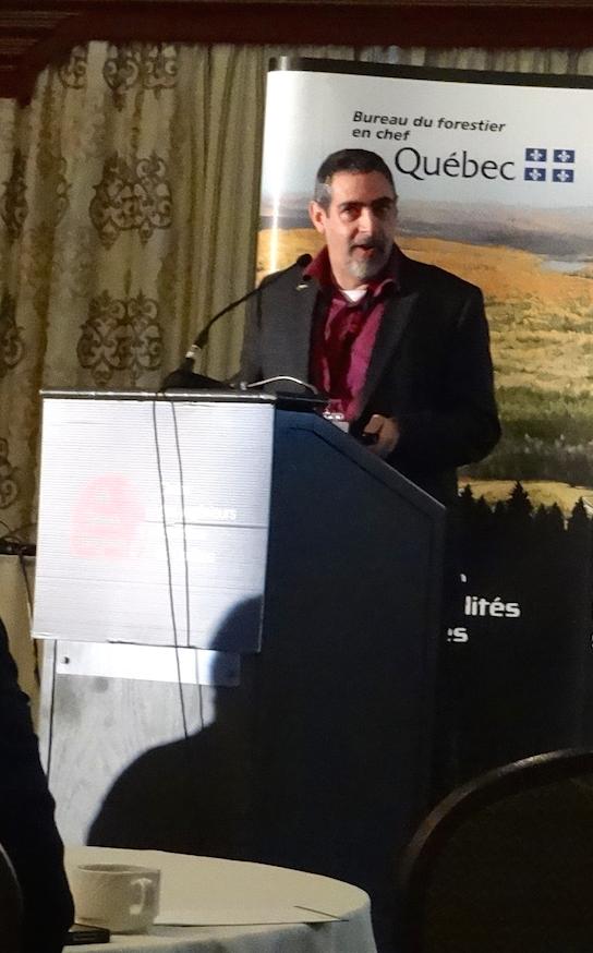 Jean Girard, Directeur du calcul des possibilités forestières au BFEC. (Photo: E. Alvarez)