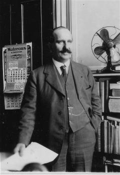 M. Gustave-Clodomir Piché, premier chef (1908 - 1936) du Service forestier du ministère des Terres et Forêts.