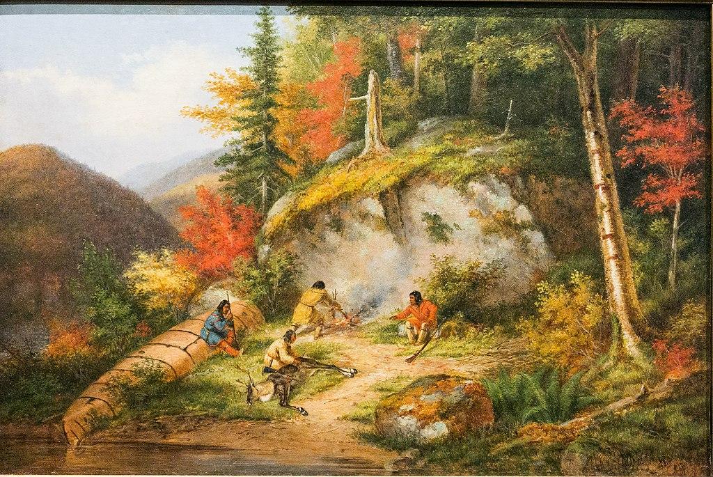 Ojibwés chassant le caribou